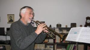 Kurt with Trumpet