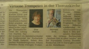 Leipzig newspaper