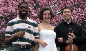 Arreon Harley, Stephanie Barnes, and Michael Polonchak