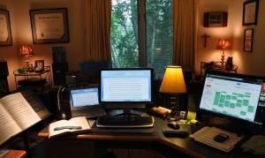Elisa Koehler's Home Office