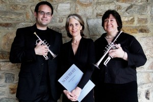 Brent Flinchbaugh, Lisa Weiss, and Elisa Koehler